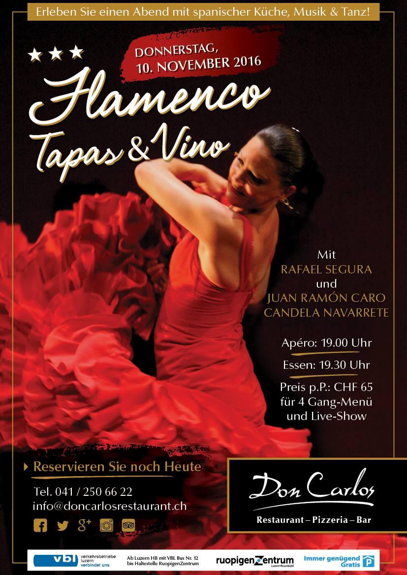 Restaurant Don Carlos Luzern 10.11.2016