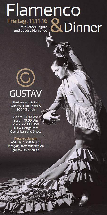 GUSTAV Restaurant & Bar Zürich 11.11.2016